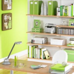 green-desk