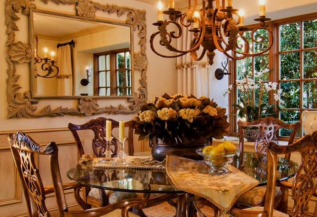 formal elegant dinning table