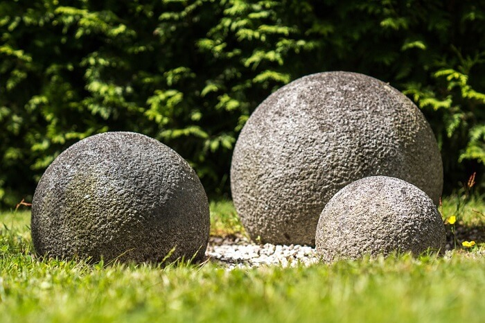 feng shui granite balls