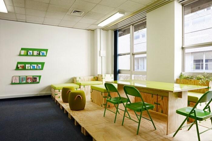 a biodegradable workstation