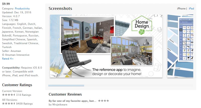 home design 3d screen capture