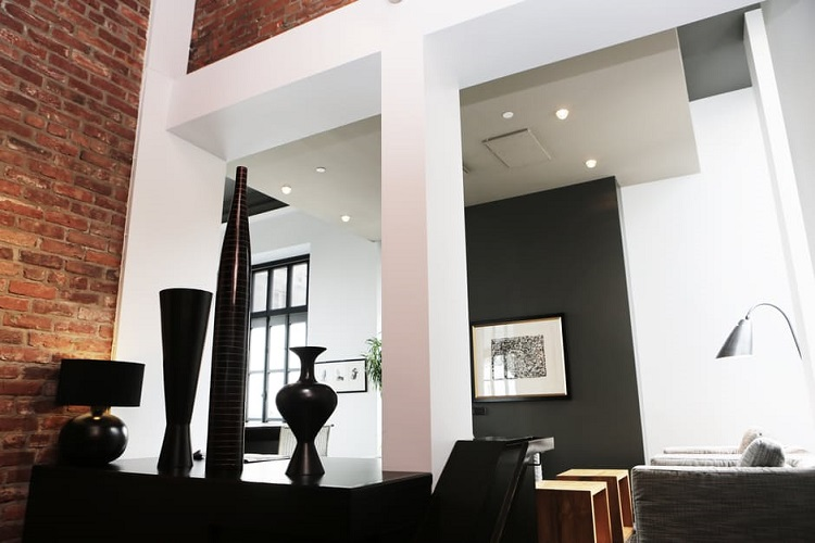 a modern interior design