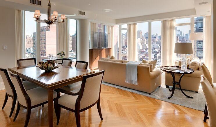 an elegant living room interior design