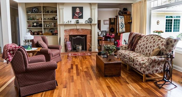 a classic elegant living room
