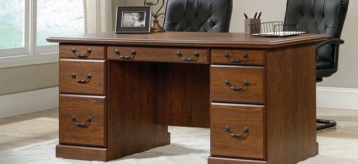an elegant robust desk