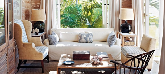 a beautiful cozy sunroom decorating idea
