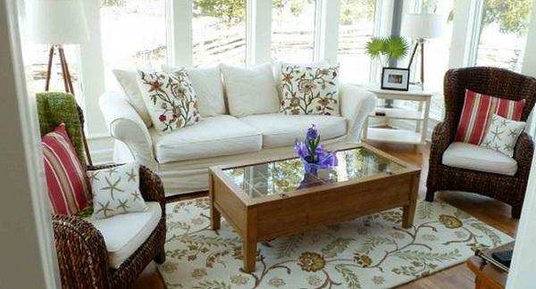 a nice elegant sunroom furniture