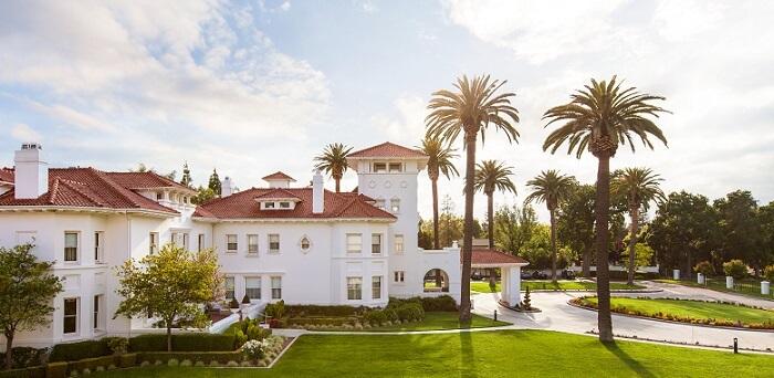 Hayes Mansion in San Jose, California
