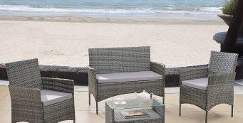 Top 4 Cheap Wicker Patio Furniture for a Comfortable Garden
