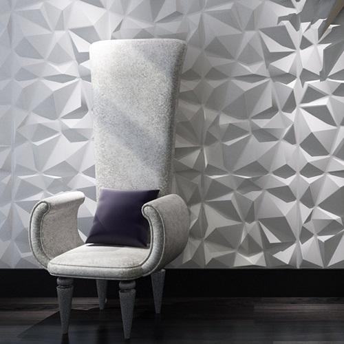 long chair against Art3d Decorative 3D Wall Panel