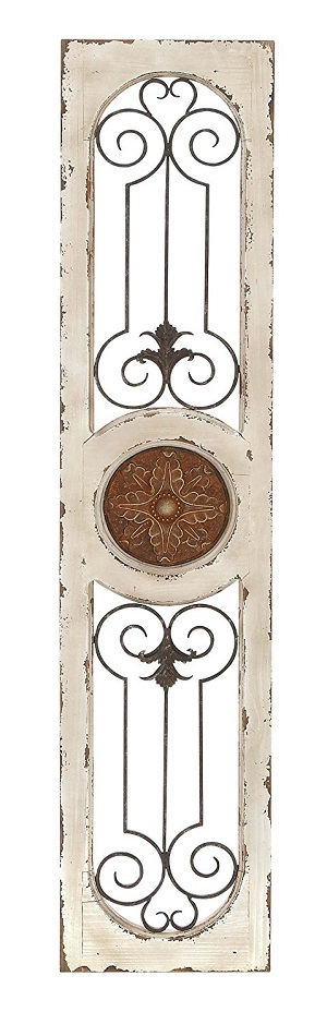 Deco 79 Wood Metal Wall Panel
