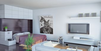 How to Decorate a Feng Shui Studio Apartment on a Budget