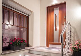 feng shui front door: door direction and color