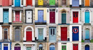 feng shui front door: all kinds of doors