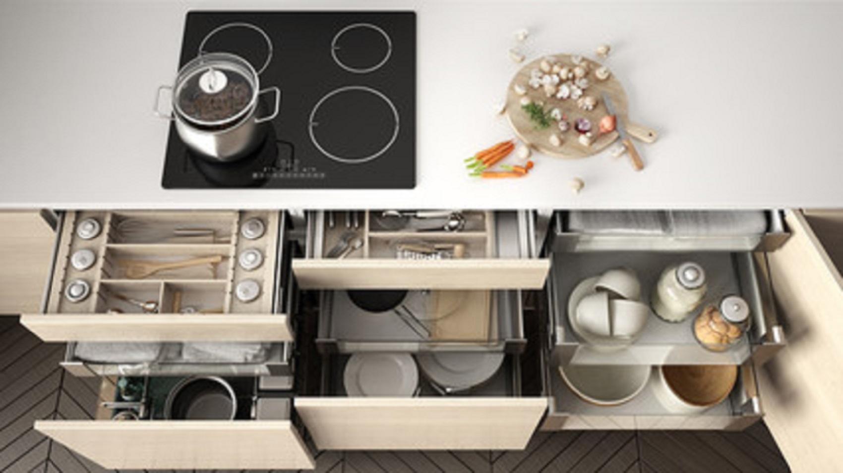 kitchen storage for your feng shui kitchen design