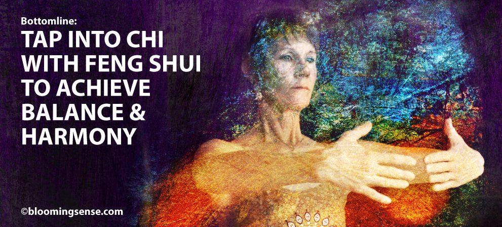 Artistic Woman gathering Chi